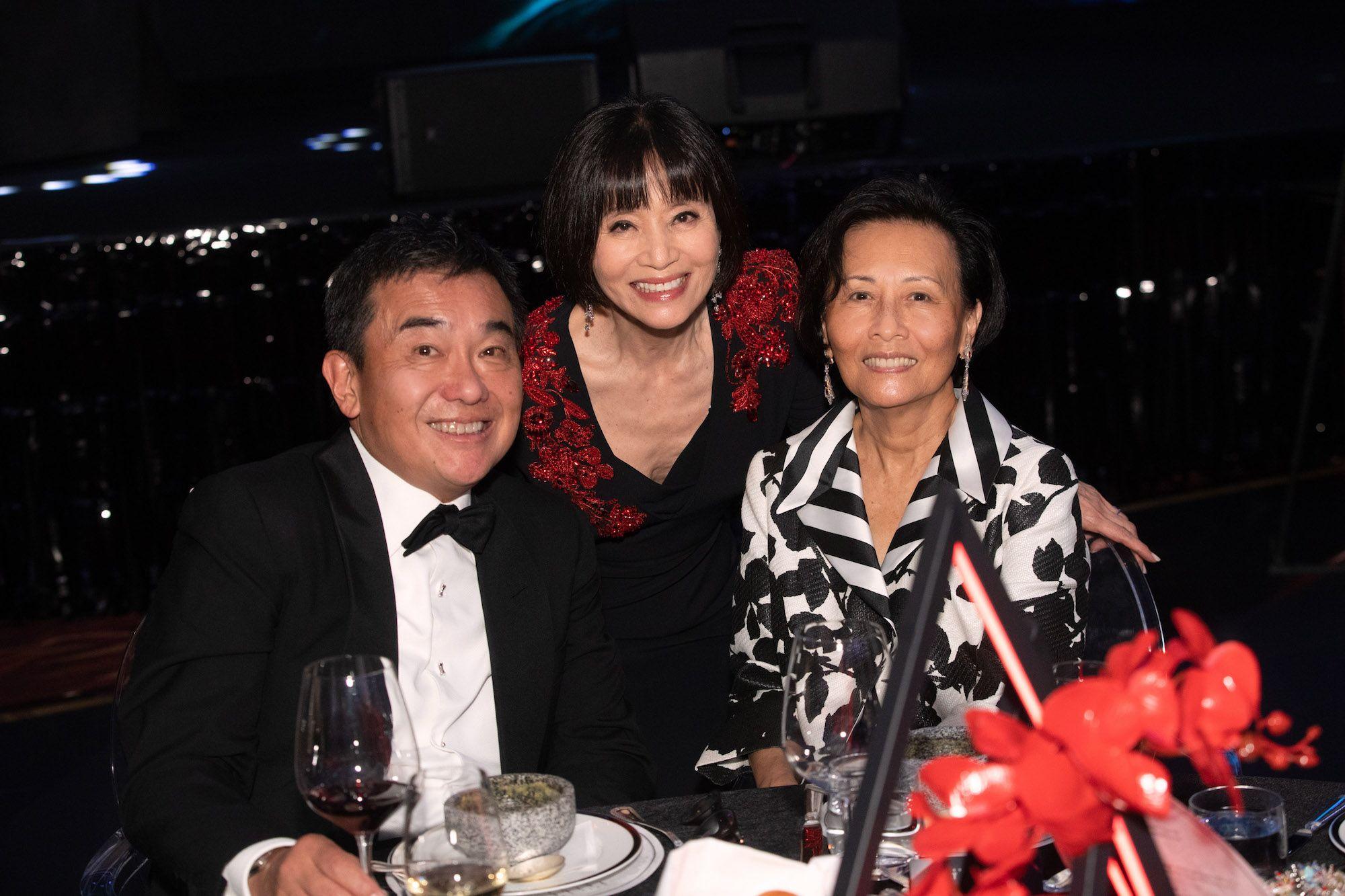 Sherman Tang, Monica Wong, Mary Tien
