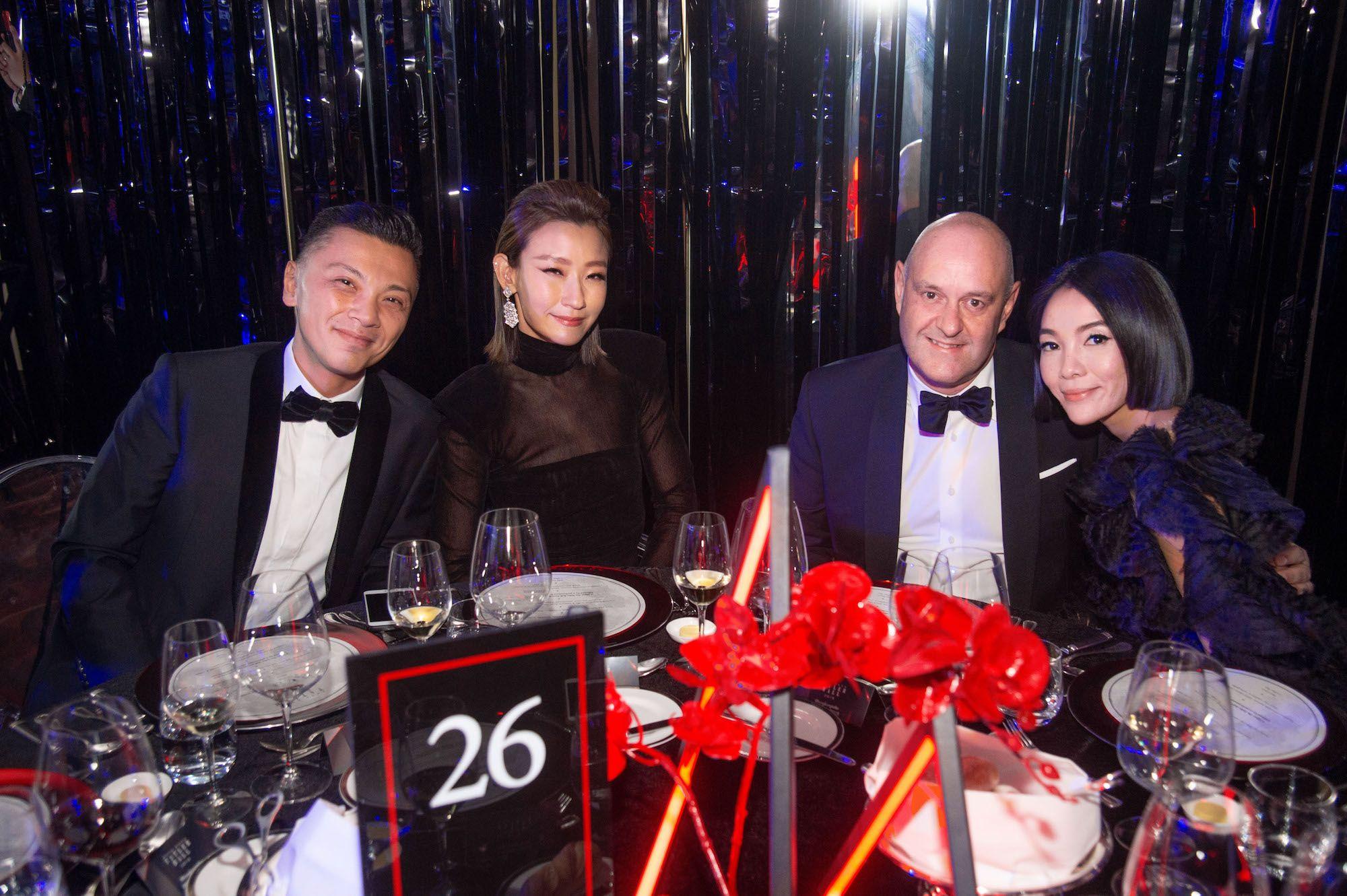 Sunny Tan, Esther Sham, Paul Husband, Sena Wakabayashi