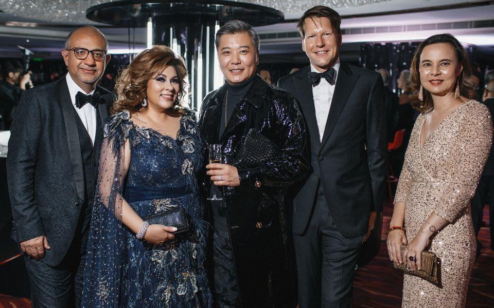 Haresh Wadhwani, Rina Wadhwani, Peter Cheung, Nicolas Lushsinger, Joanna Hotung