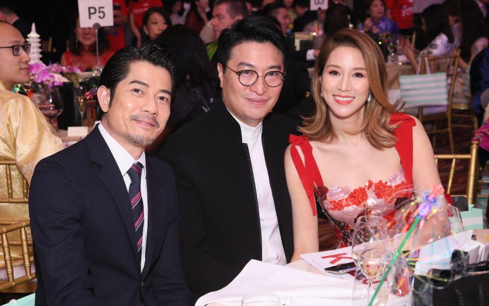 Aaron Kwok, Martin Lee, Cathy Lee