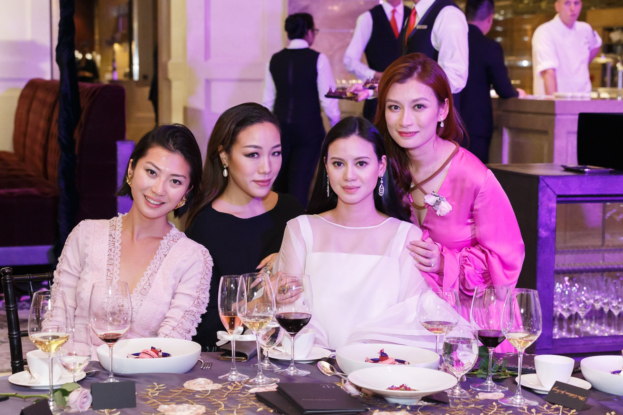 Laura Cheung, Feiping Chang, Emily Lam-Ho, Colleen Fung