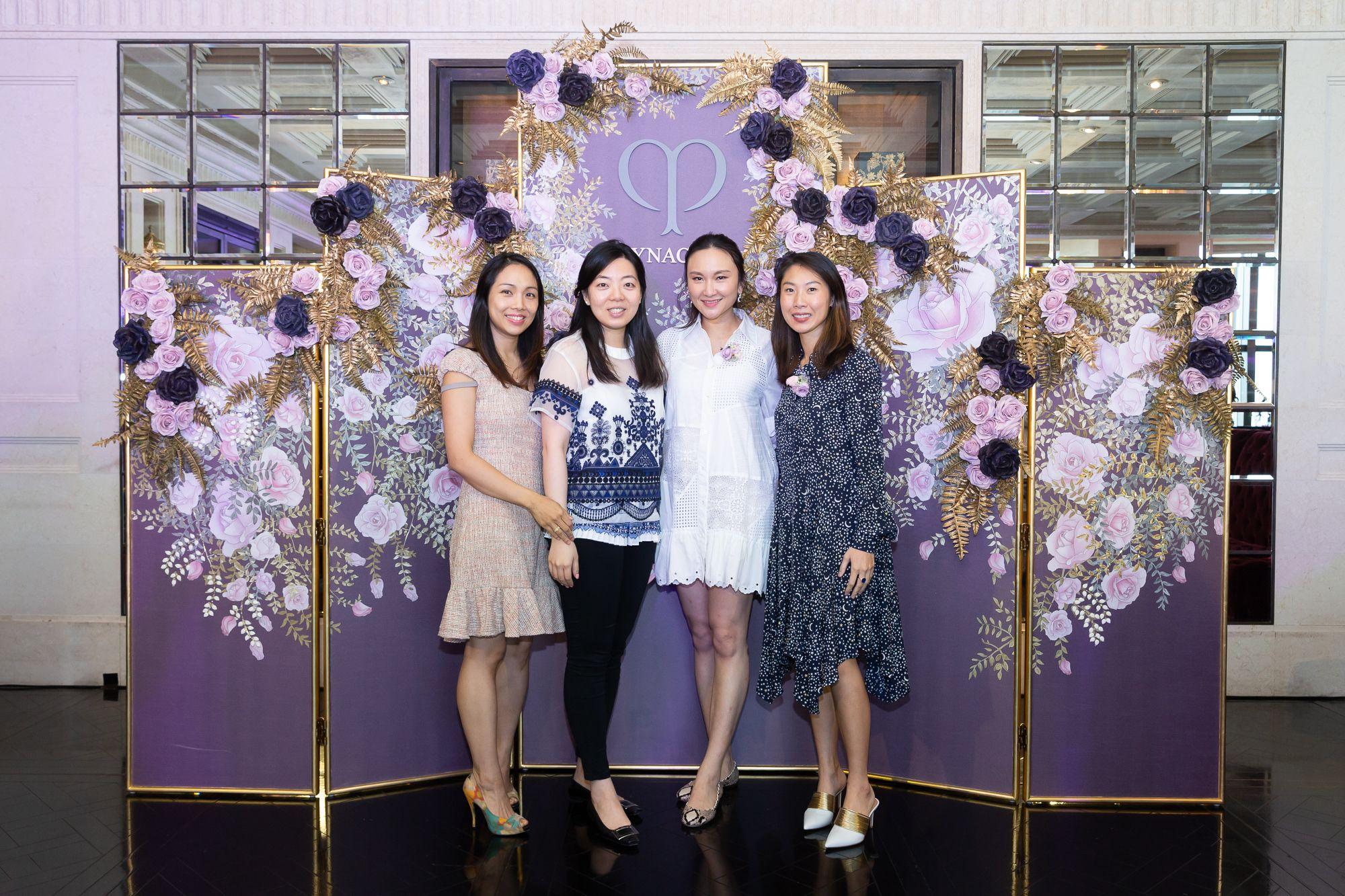 Sharon Chow, Jennifer Ma, Samantha Shek-Tung, Natalie Chan-Chu