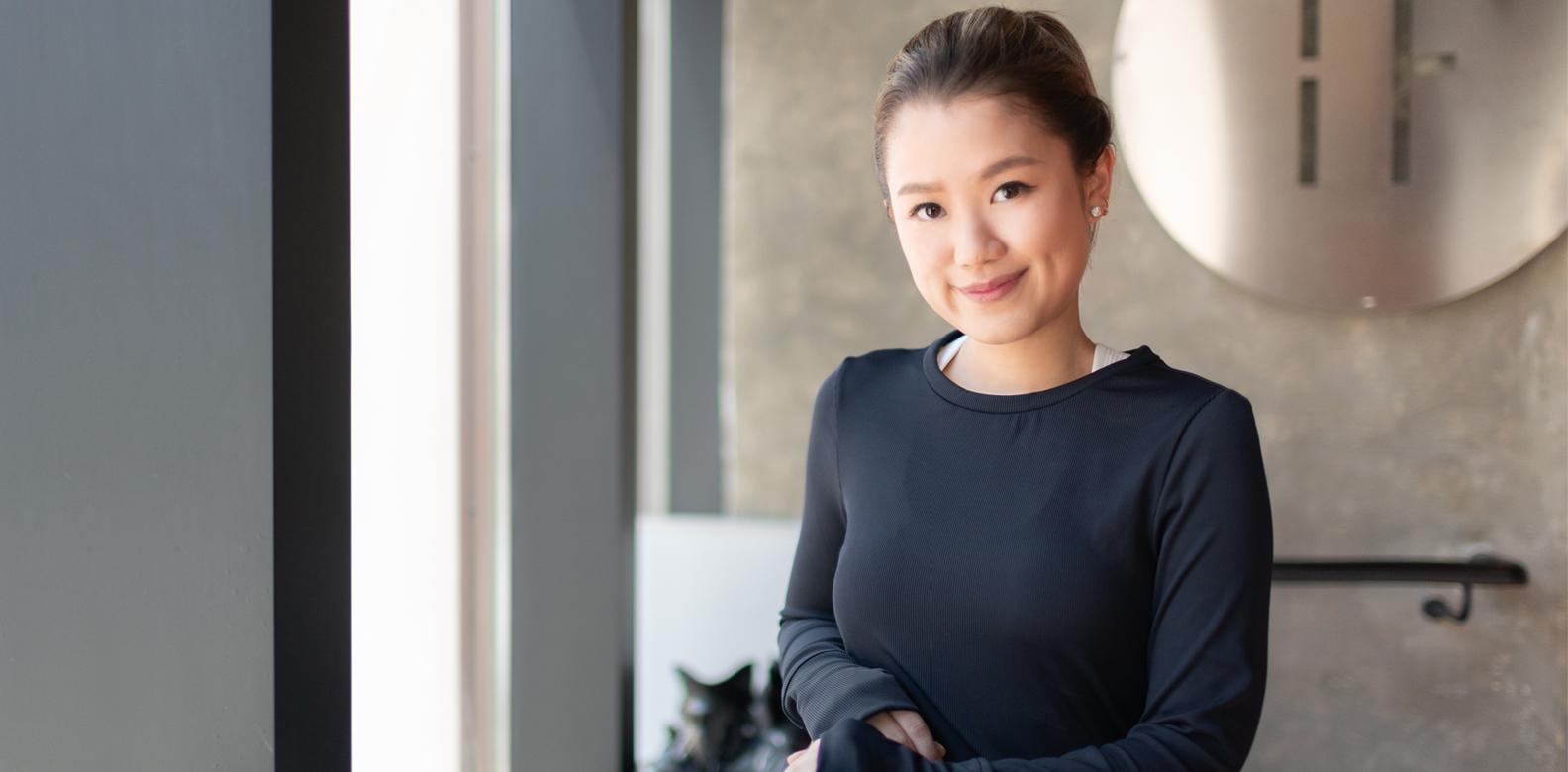 Video: Working Out With Pearl Shek of Apinara Hong Kong
