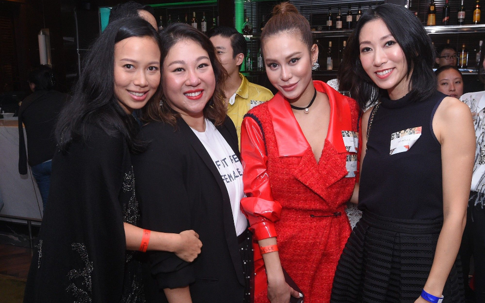 Claudine Ying, Natalie Chan-Kwok, Eleanor Lam, Candice Chan