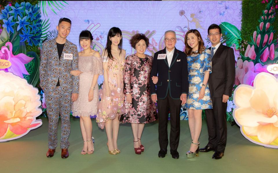 Davis Chan, Melody Kwok-Chan, Vivien Chao, Eleanor Kwok, Simon Kwok, Kitty Kwok, Joseph Li
