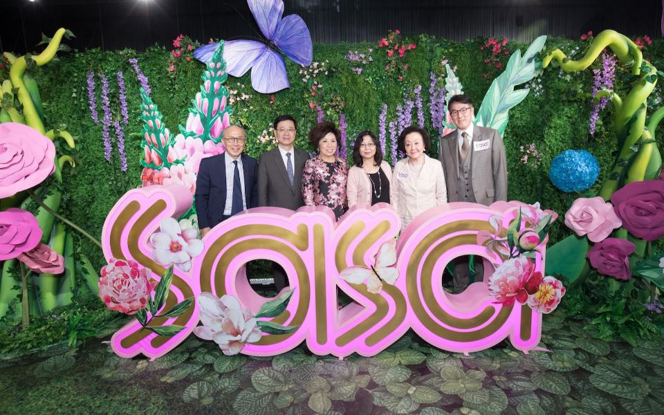 Ma Ching Nam, John Lee, Eleanor Kwok, Janet Lee, Sally Leung, Patrick Ma
