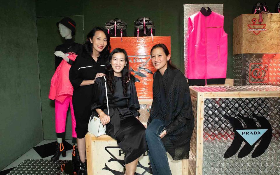 Jaime Ku, Joyce Tam, Marisa Yiu