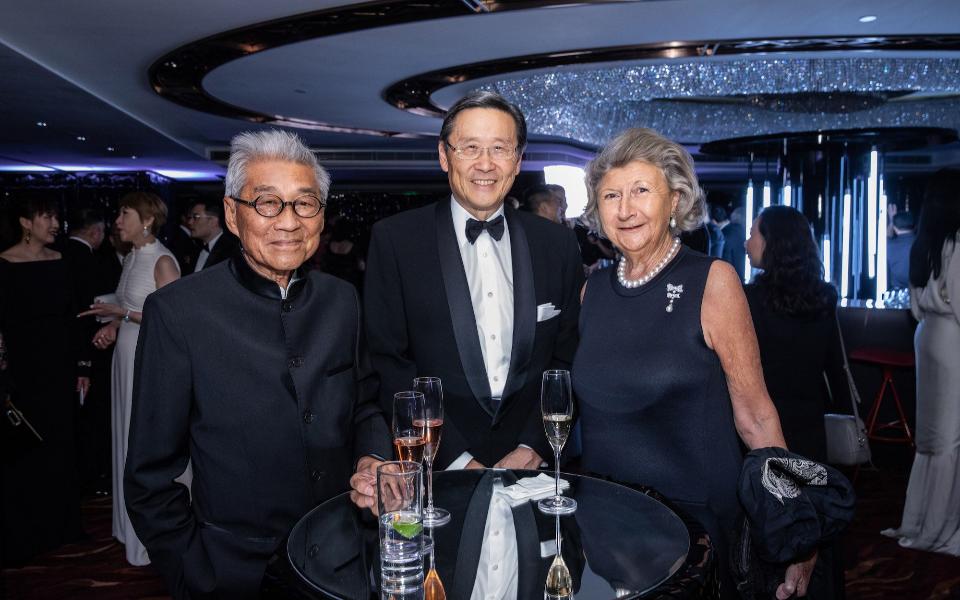 Robert Lo, Peter Woo, Sally Lo