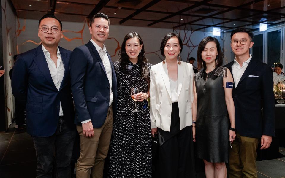 Alan Lo, Gus Lee, Joyce Tam, Yenn Wong, Bonnie Chan-Woo, Darrin Woo