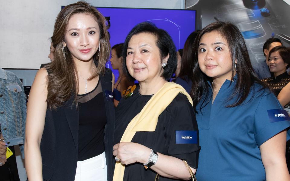 Sarah Zhuang, Betty Cheng, Vena Cheng