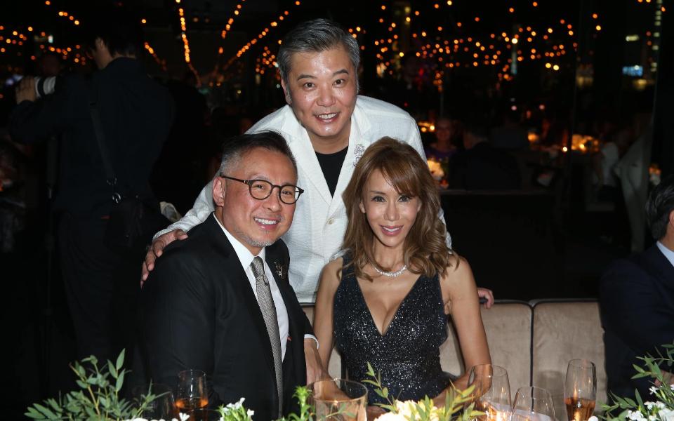 Barney Cheng, Peter Cheung, Mira Yeh