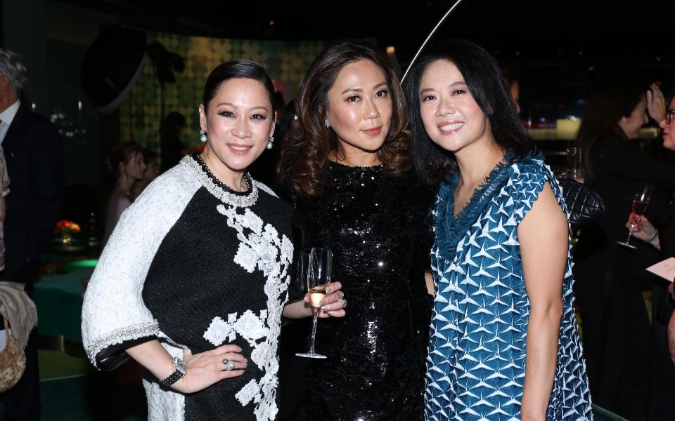 Yuda Chan, Sharie Ross-Tse, Annie Ho-Ting