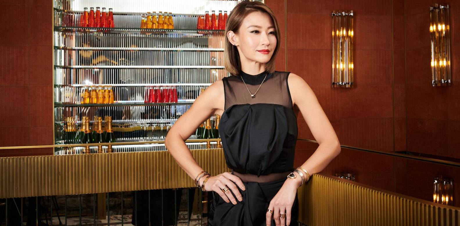 Esther Sham at the Happening Lounge, Bvlgari, Landmark Chater (Photo: Moses Ng/Hong Kong Tatler)