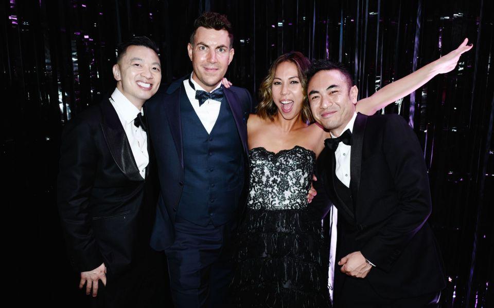 Danny Yeung, Michel Lamunière, Tamara Lamunière, Aaron Lee