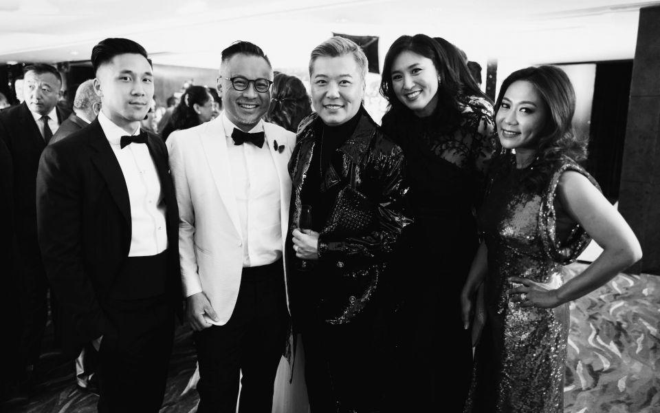 Harry Luk, Barney Cheng, Peter Cheung, Leigh Tung-Chou, Sharie Ross-Tse
