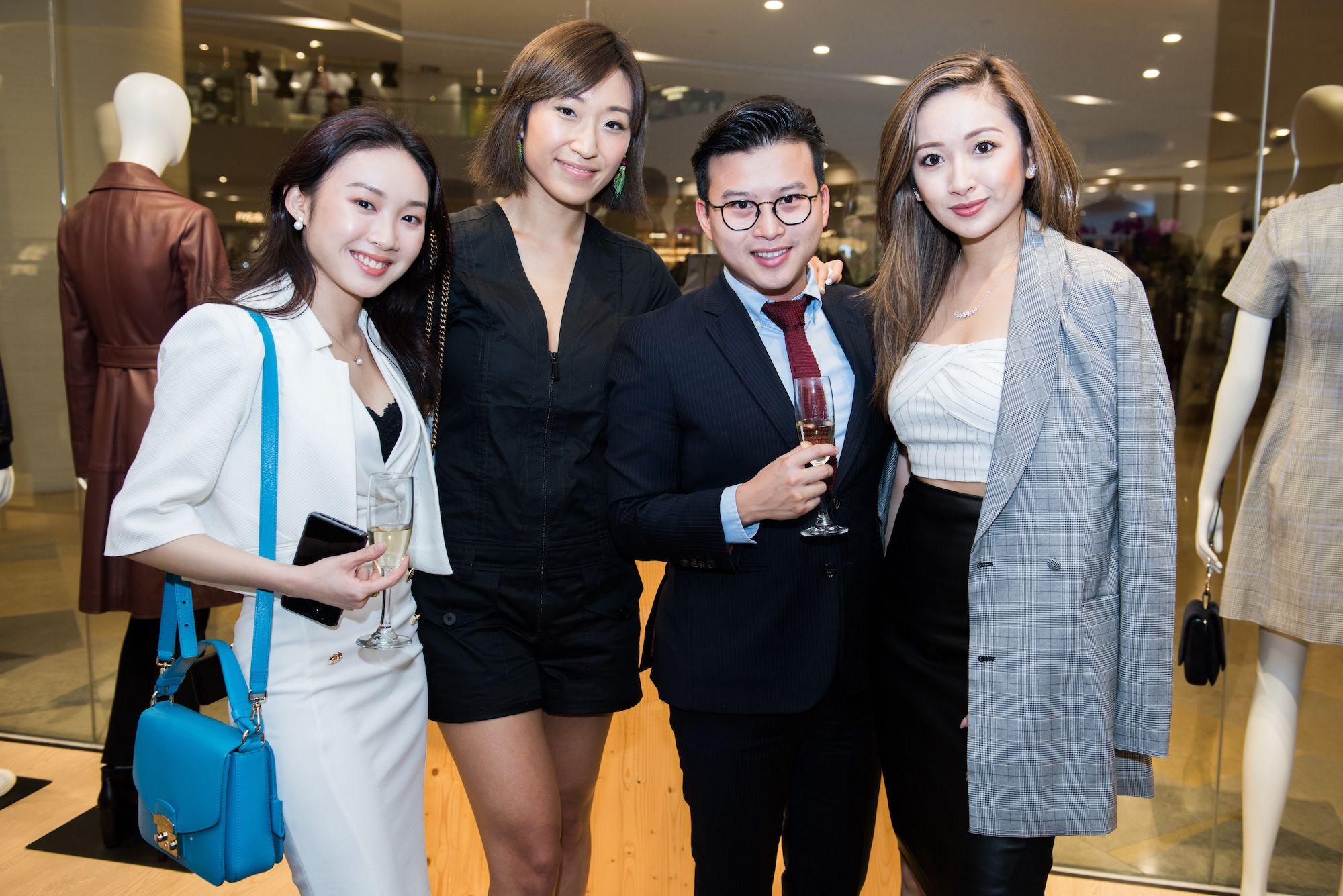 Annissa Choi, Florence Tsai, Jonathan Lam, Sarah Zhuang