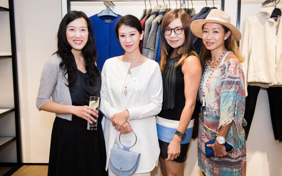 Joyce Tam, Christy Liang, Esther Ma, Christianne Ho