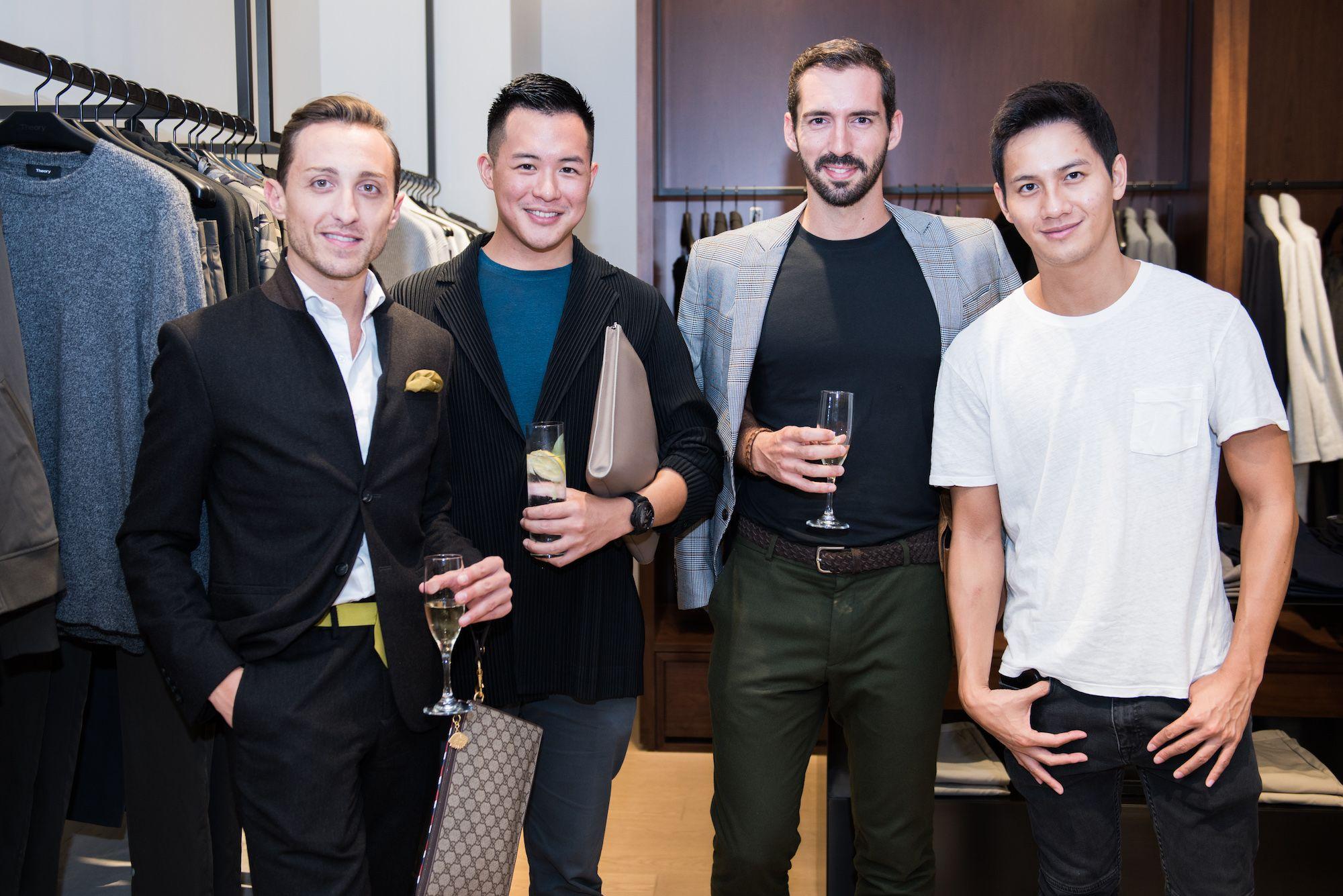 Julien-Loïc Garin, Nero Ip, Pierre-Louis Guillon, Vincent Wan