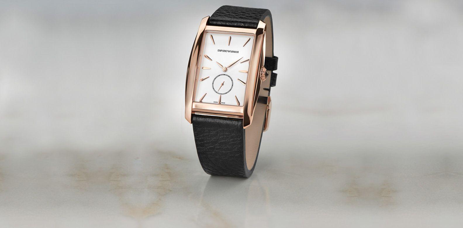 Sonderrabatt 2018 Schuhe 100% Zufriedenheitsgarantie Emporio Armani Goes Gatsby Style With Modern Retrò Watch ...