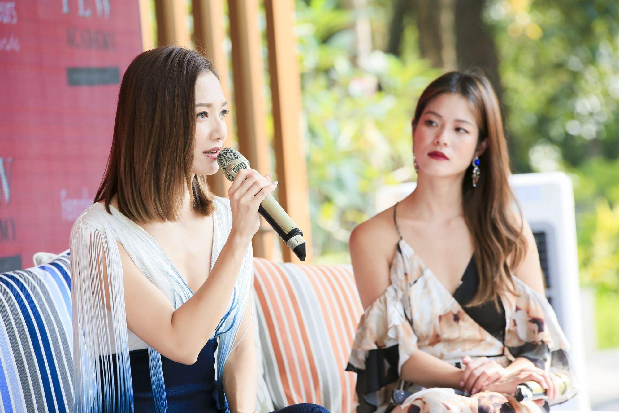 Grace Wong, Natasha O'Brien