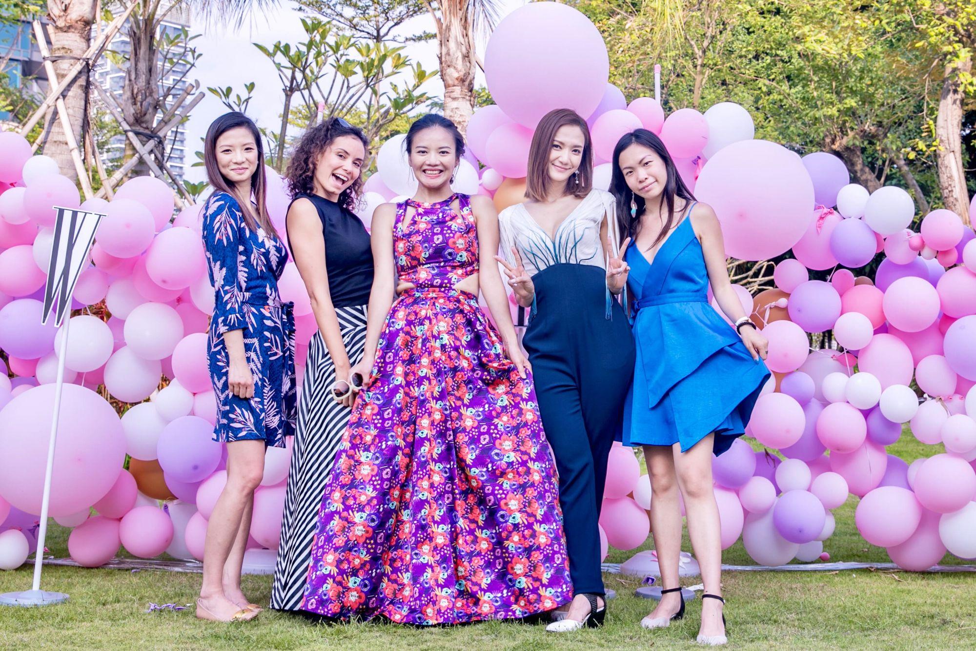 Joanna Lui Hickox, Ines Gafsi, Anna Wong, Grace Wong, Vivian Man