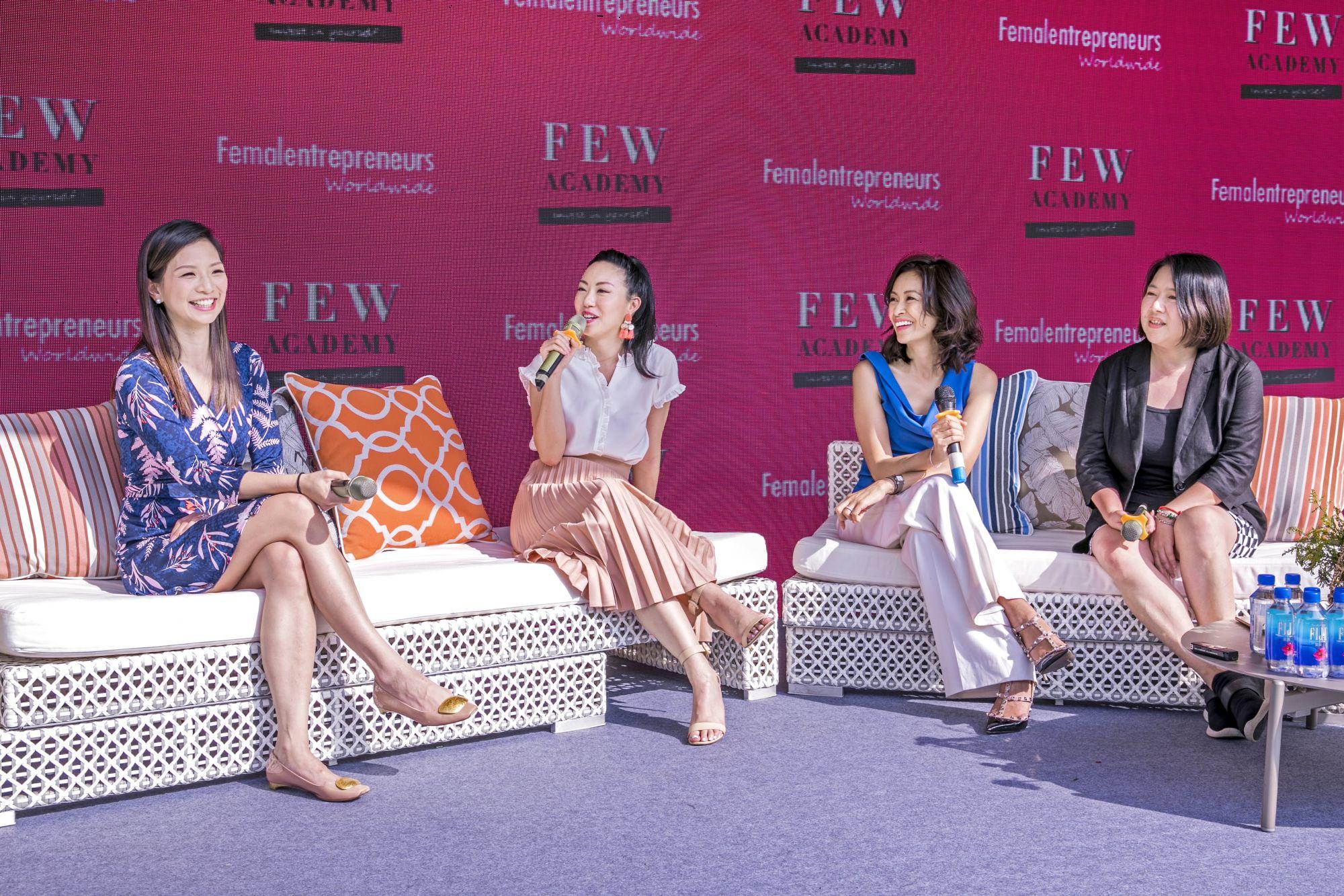 Joanna Lui Hickox, Ruth Chao, Angie Lau, Kelly Lau
