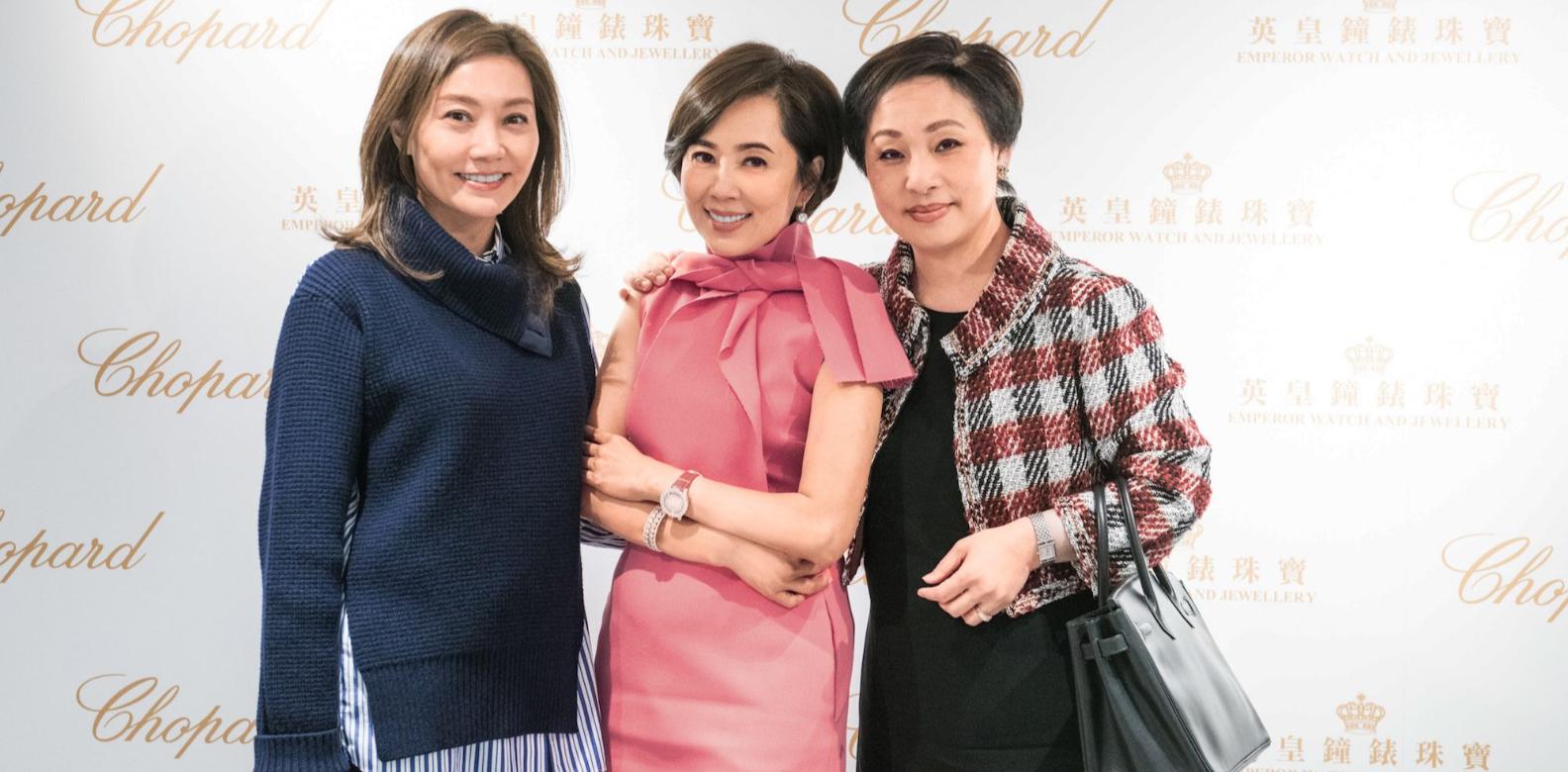 Laetitia Yu, Cindy Yeung-Cheung, Nina Lam
