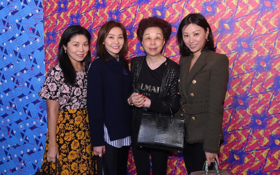 Estella Niem, Laetitia Yu, Mignonne Cheng, Michelle Cheng-Chan