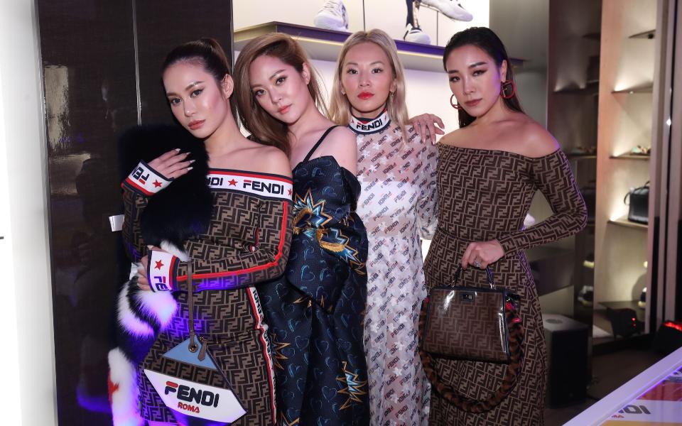 Eleanor lam, René Chu, Tina Leung, Feiping Chang