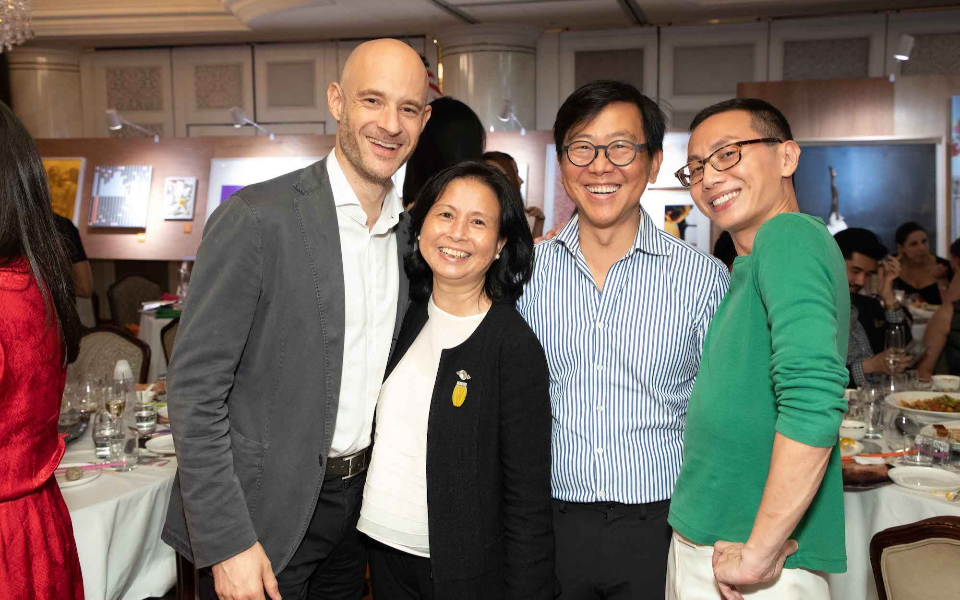 Edouard Malingue, Lavina Lim, William Lim, Piecco Pang