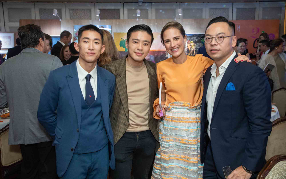 Geoffrey Chuang, Jonathan Cheung, Patricia Crockett, Alan Lo