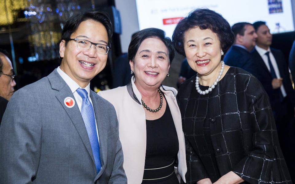 Charles Mok, Emily Lau, Sophia Kao-Lo