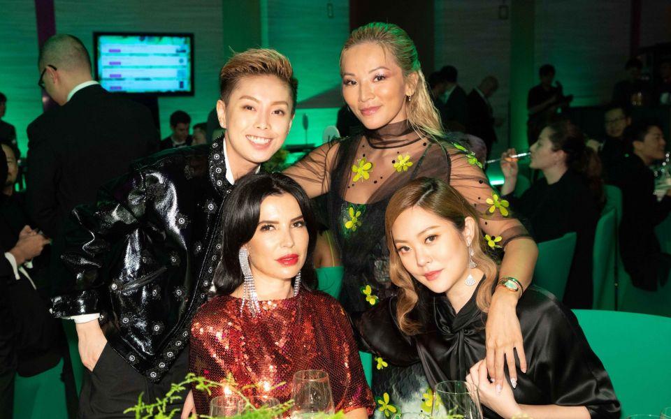 Tiffany Chan, Tina Leung, Aureta Thomollari, René Chu