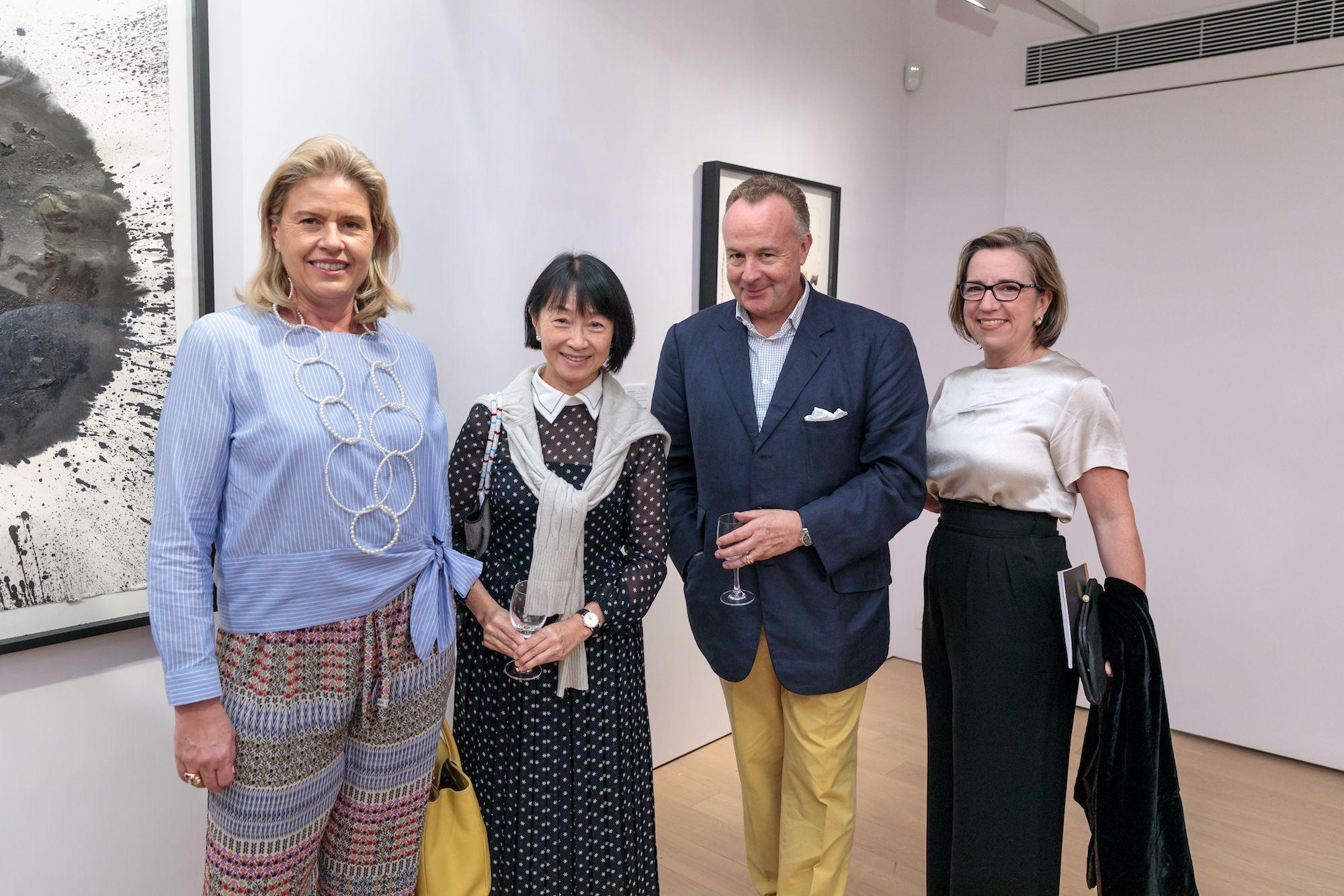 Désirée Jebsen, Nancy Lee, Hans Michael Jebsen, Anne Witt