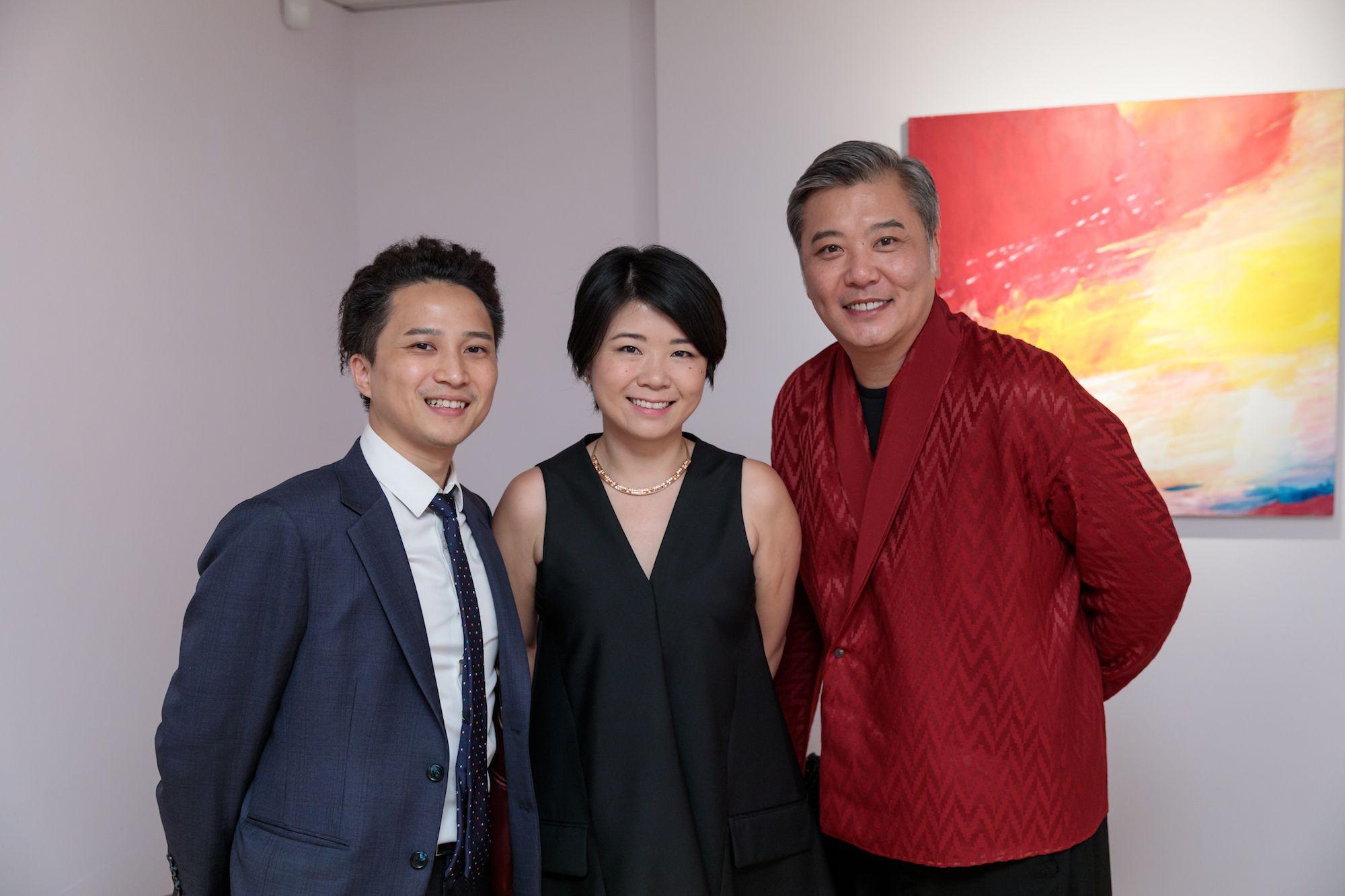 Howard Chung, Irene Cheng, Peter Cheung