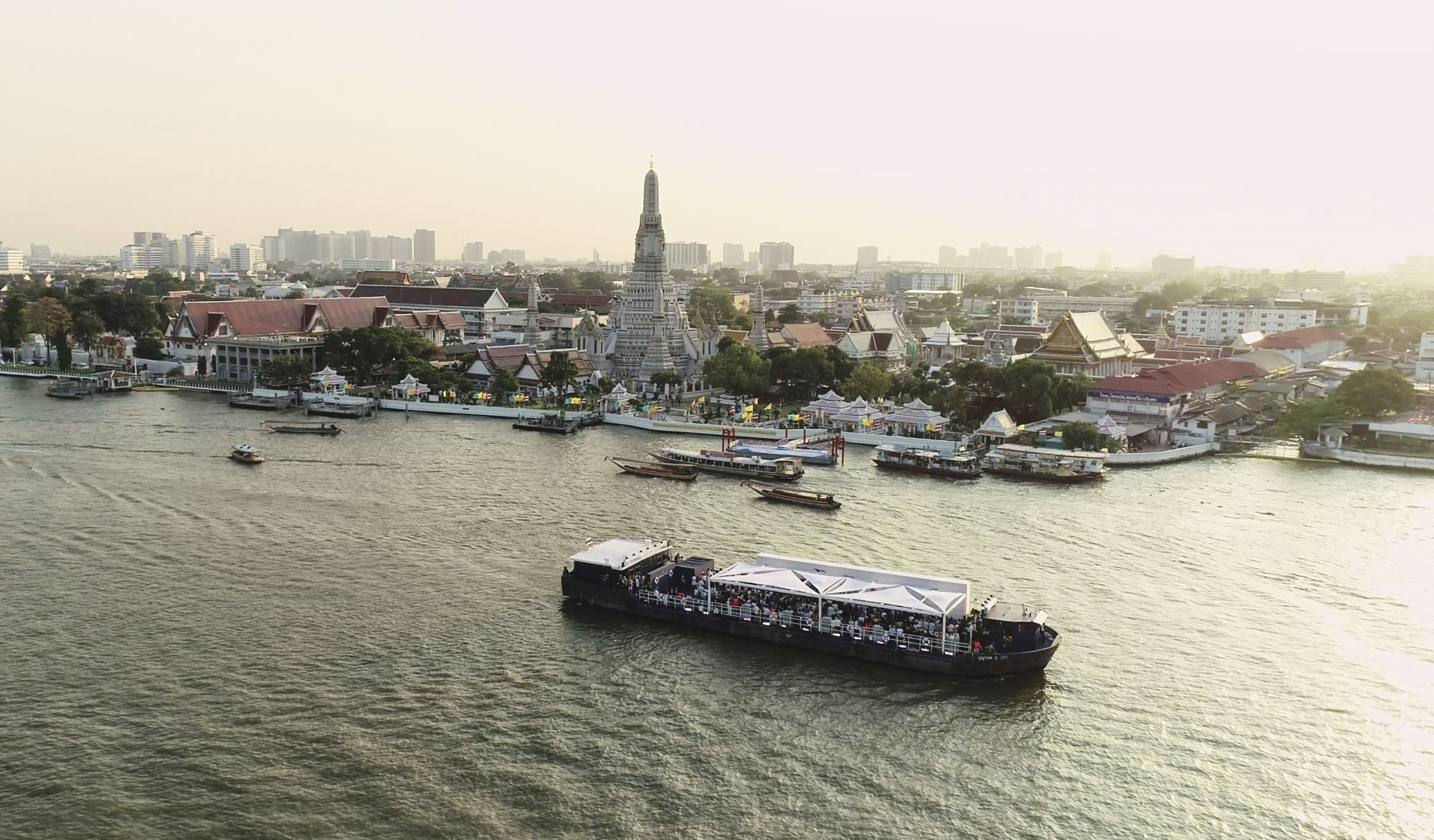 Art With Sansiri: Miquel Barcelo's Live Performance On The Chao Phraya River In Bangkok