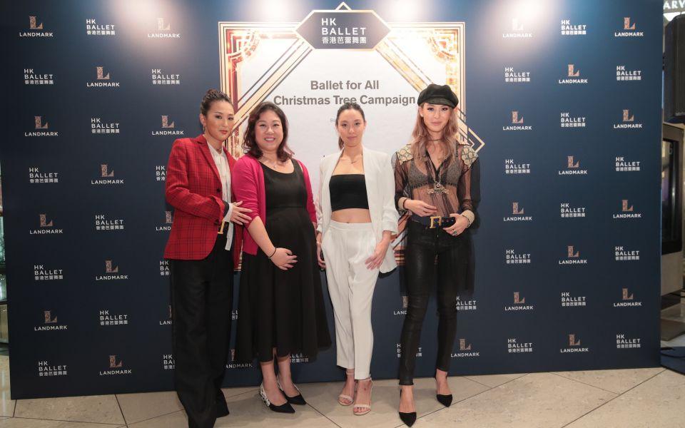 Antonia Li, Natalie Chan-Kwok, Adelene Chan, Alison Chan-El Azar