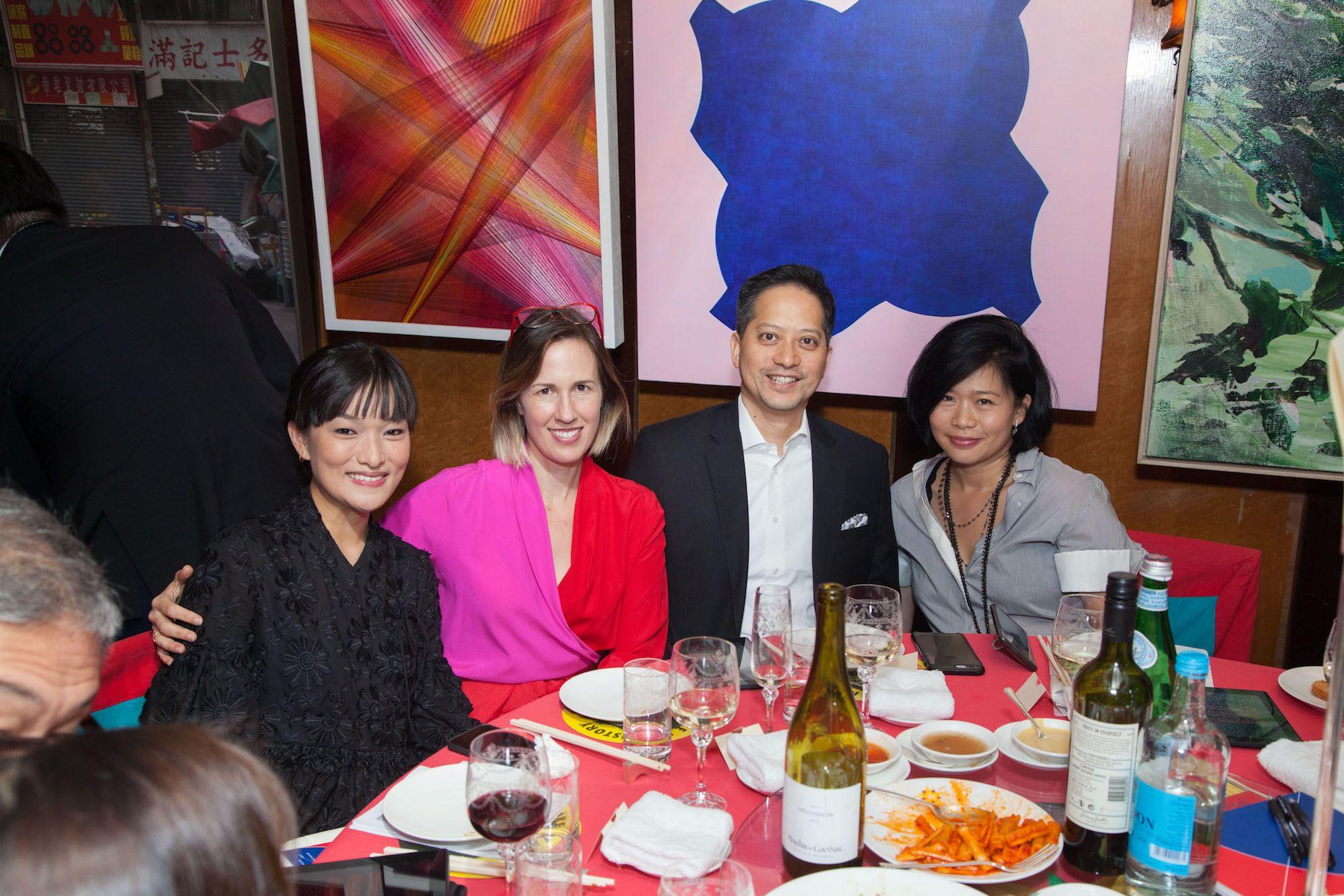 Lorraine Malingue, Mimi Brown, Michael Yao, Angela Cheng-Matsuzawa