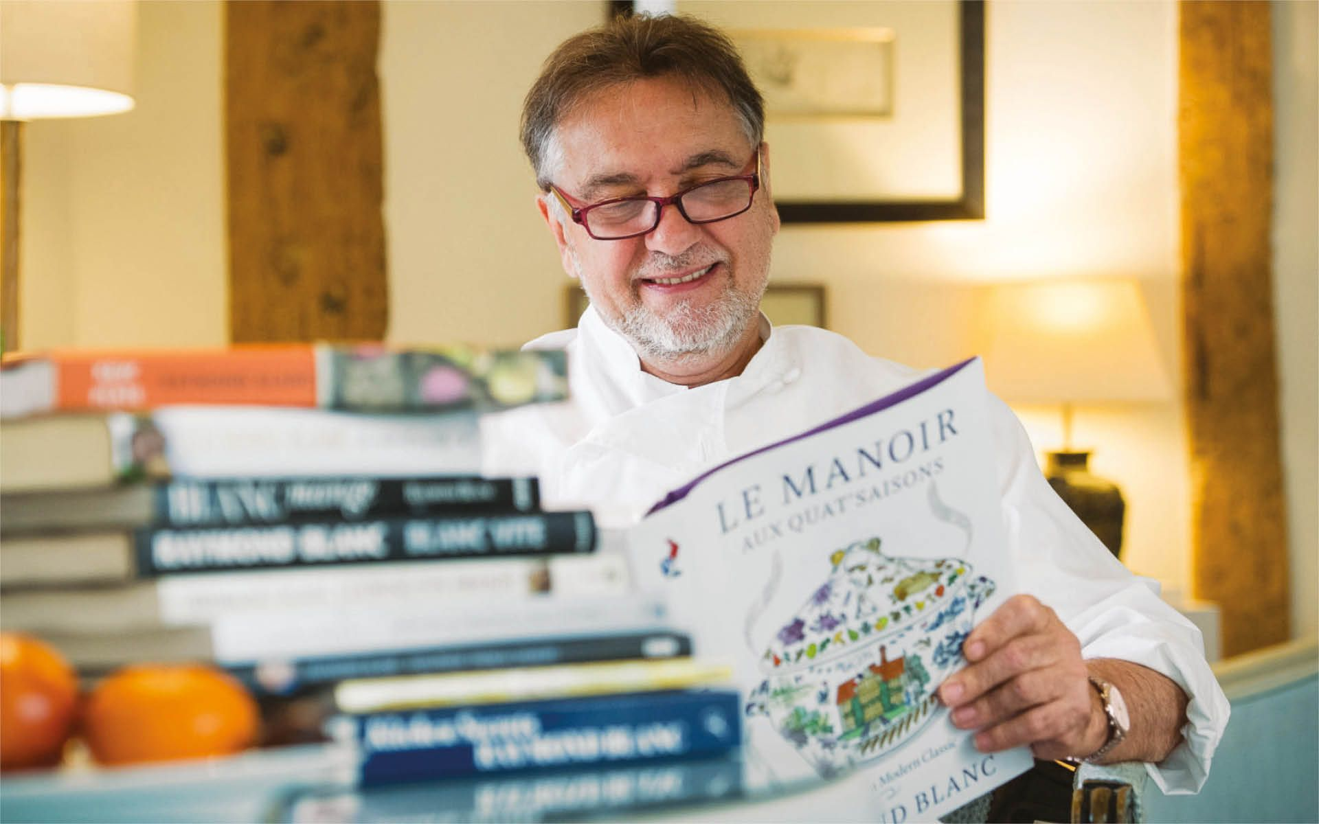 5 Minutes With... Raymond Blanc, Knighted Michelin-Starred Chef