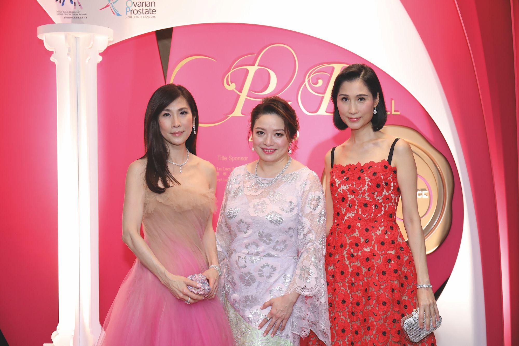 Ming Ho-Tang, Ava Kwong, Louisa Cheng