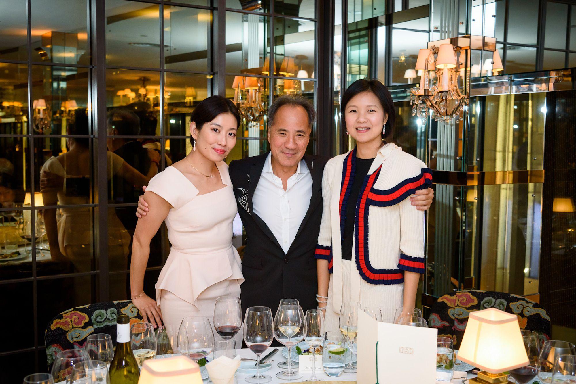 Louisa Leung, Edward Fung, Lili Ma