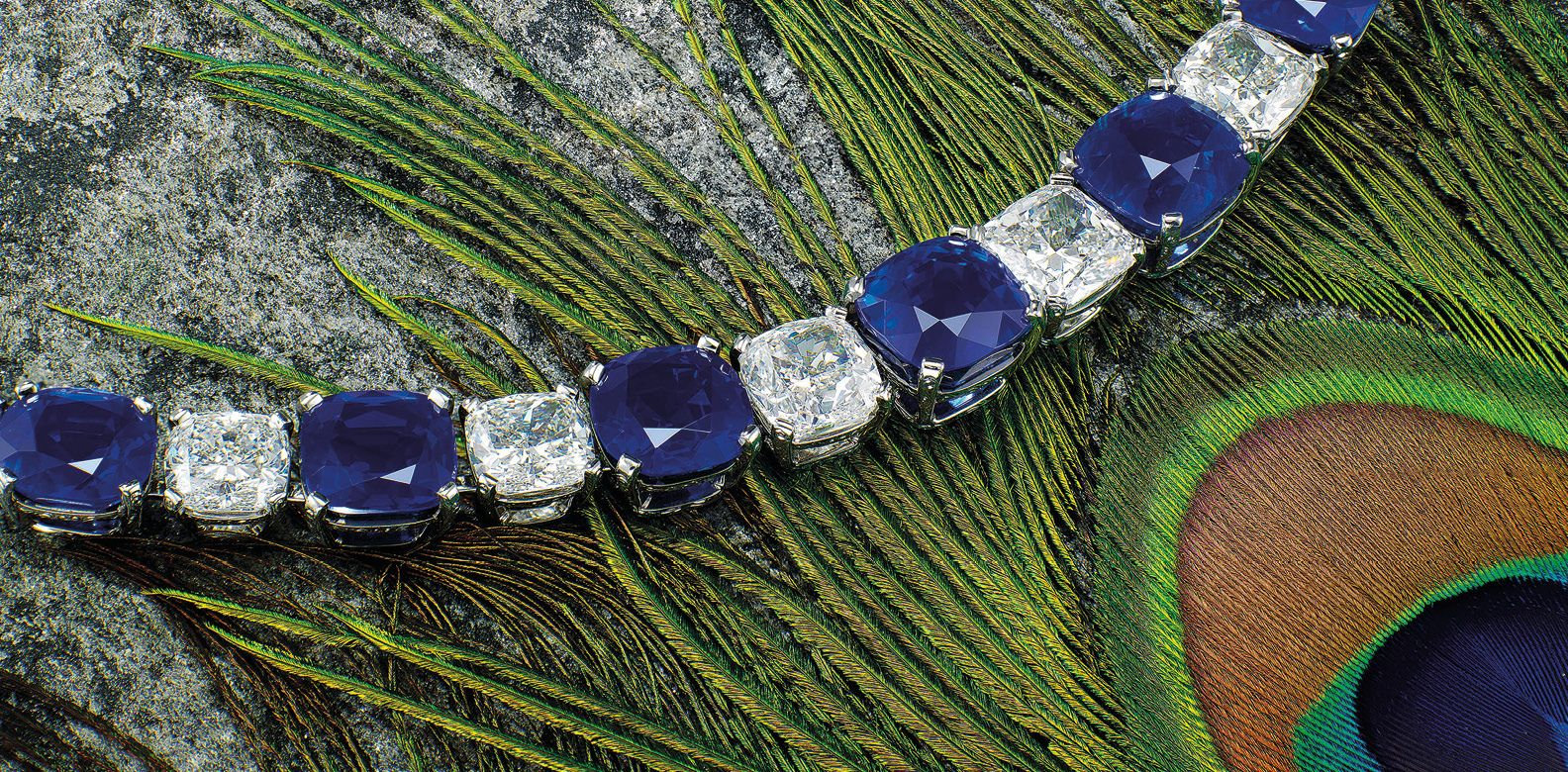 The Kashmir Sapphire Peacock Necklace Leads Christie's Auction