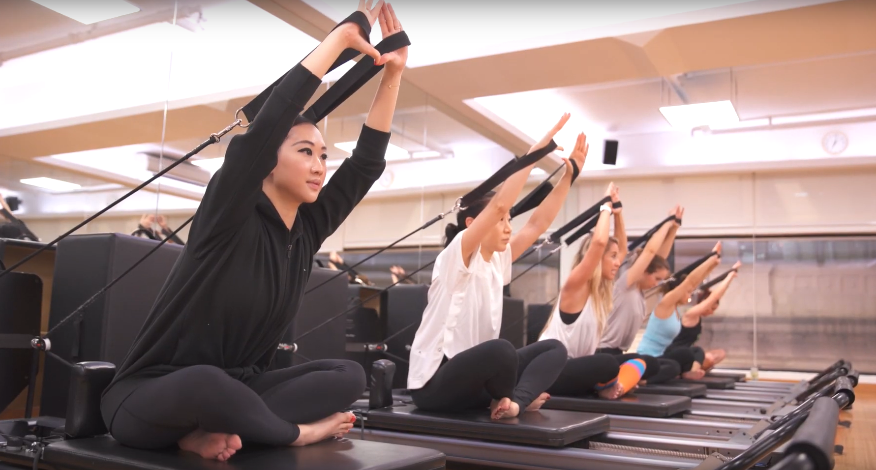 Video: Working Out With Genevieve Chew Of Edit