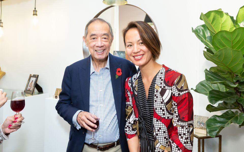 Ronald Arculli, Claire Hsu-Vuchot