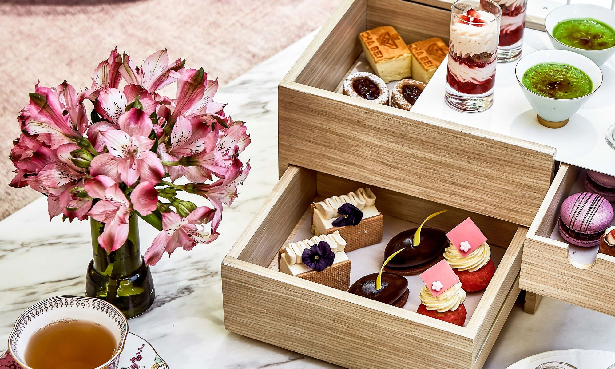 Cha Bei Presents New Signature Extravaganza Afternoon Tea