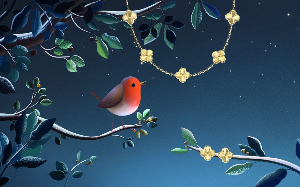 Give The Gift Of Luck With Van Cleef & Arpels' Alhambra Collection