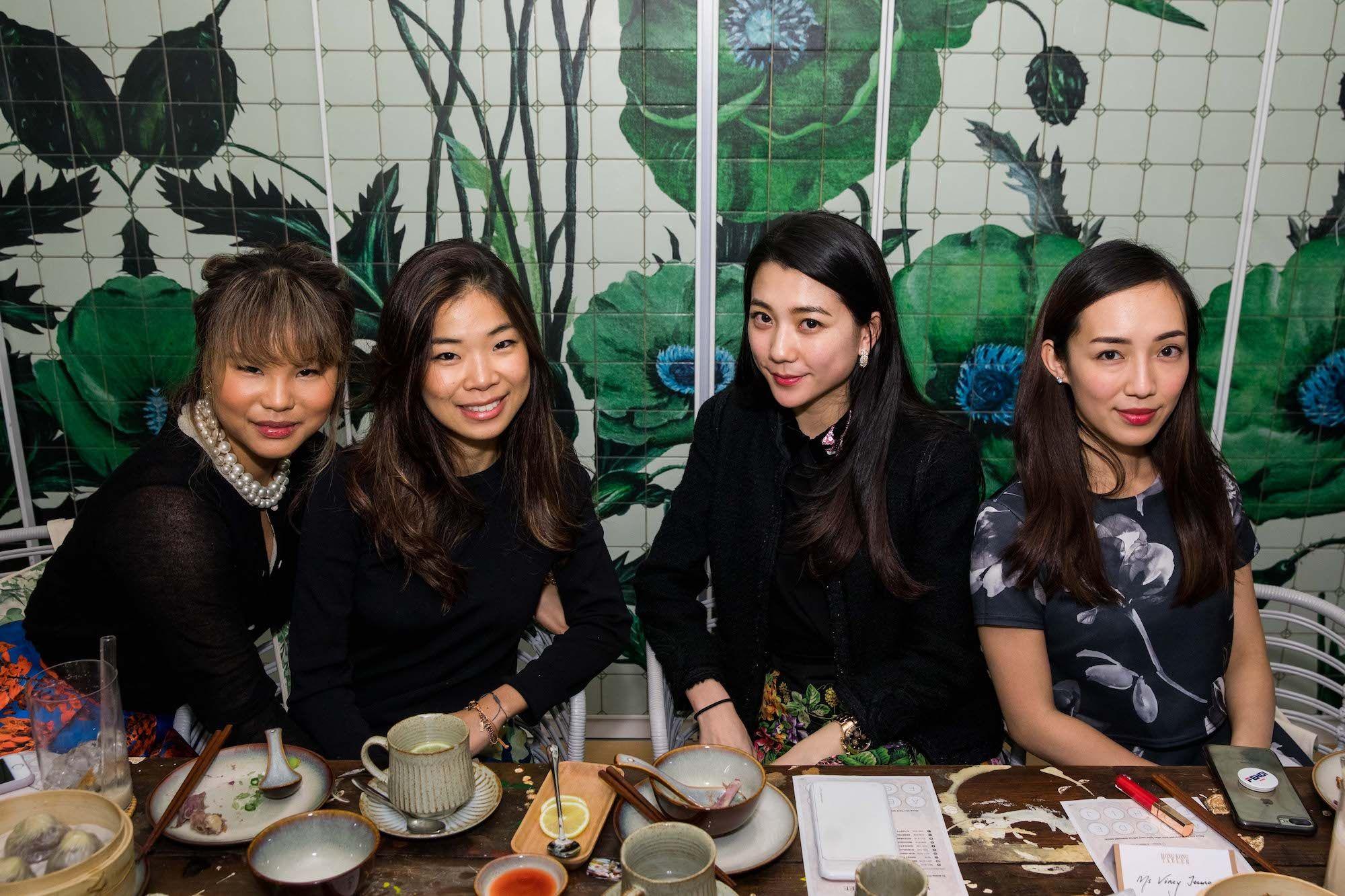 Natalya Xavier, Charmaine Choi, Vincy Yeung, Christine Fok
