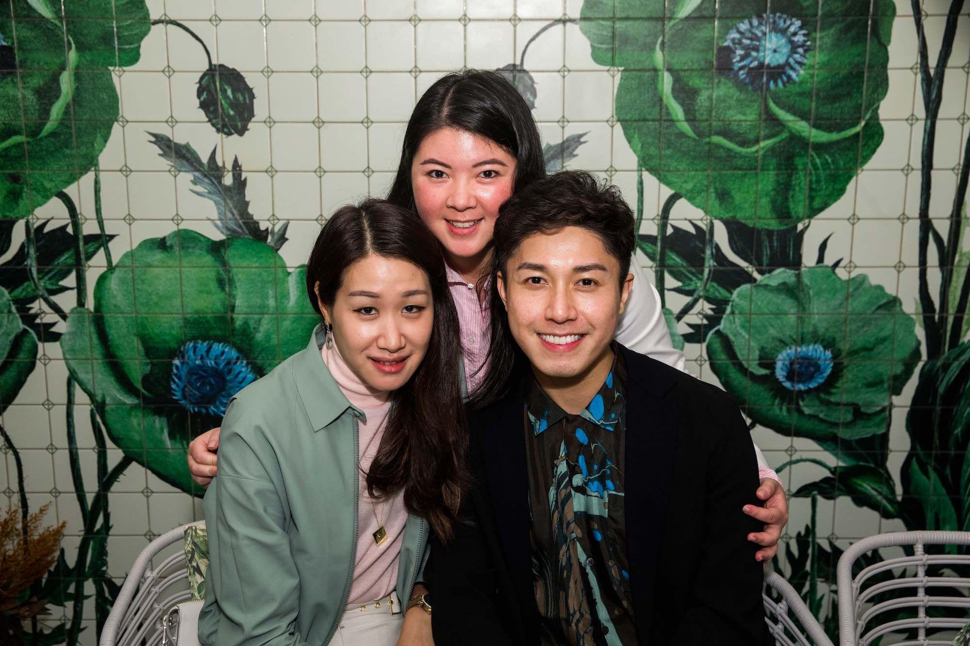 Yijia Tiong, Amy Lee, Edwin Pun