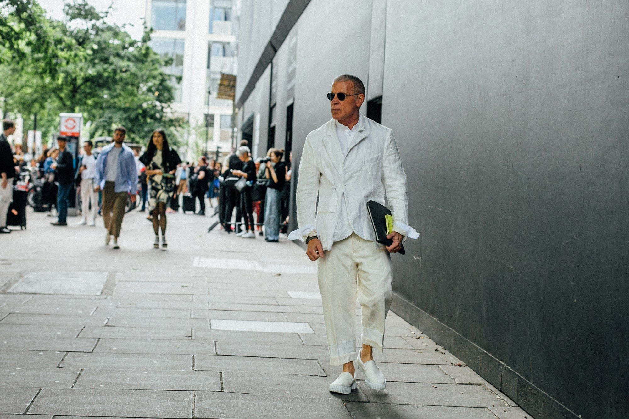 Ice Cool: 10 Arctic White Items For Men To Rock This Fall