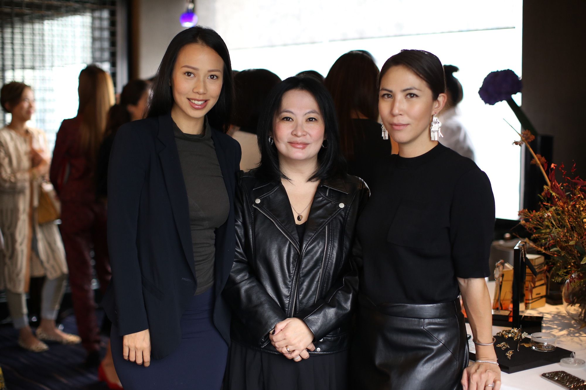Claudine Ying, Jo Soo-Tang, Victoria Tang-Owen